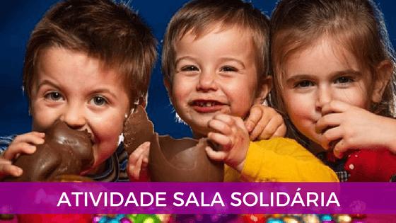 Atividade sala solidária para páscoa