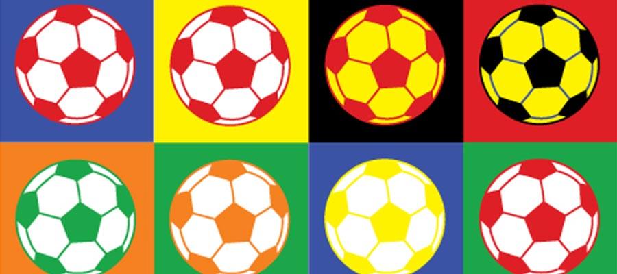 Atividade Bola Futebol Art Pop