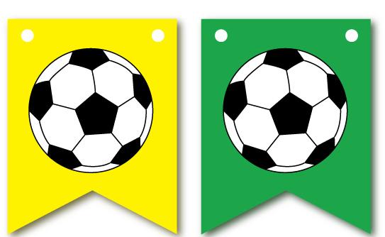 Bandeirinha Bola Futebol