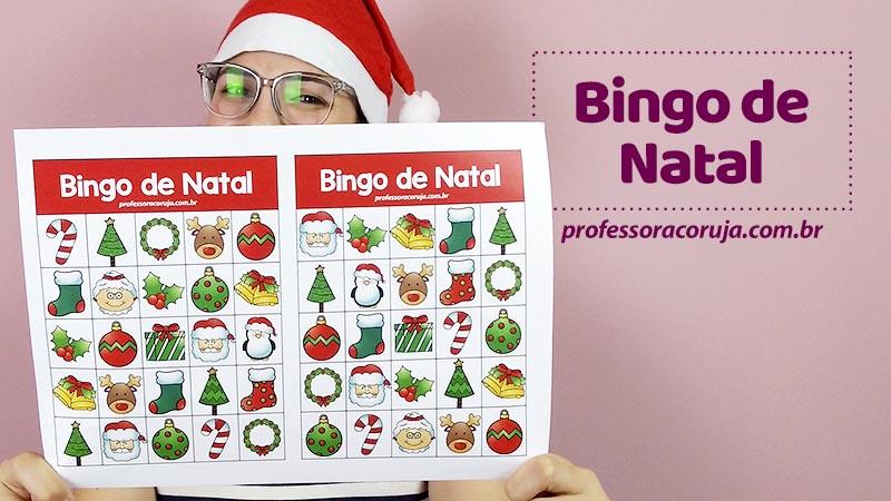 Bingo de Natal para Baixar