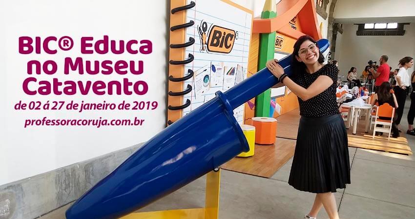 BIC® Educa no Museu Catavento