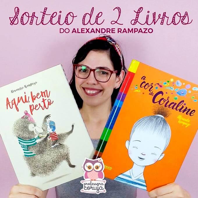 Sorteio de Livros Infantis