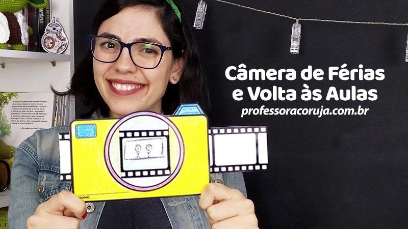 Câmera de Volta às Aulas