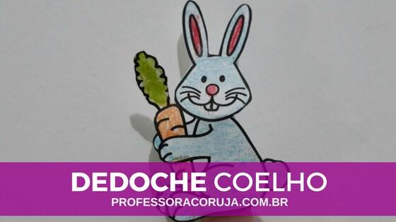 Dedoche de Coelho para a Páscoa