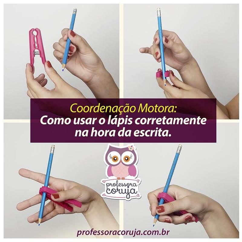 Como usar o lápis corretamente na hora da escrita