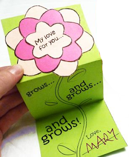 Cartão Meu amor por você cresce