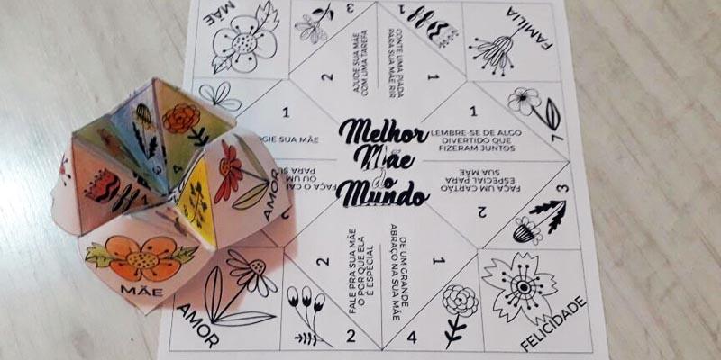 Atividade Vai e Vem para o Dia das Mães