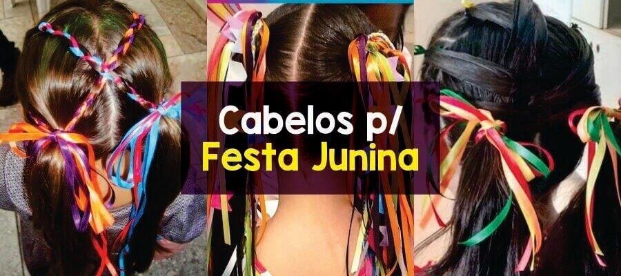 Ideias de cabelos para Festa Junina