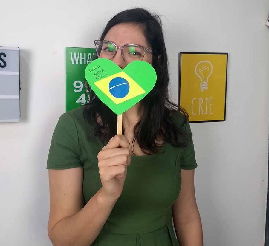 Coração Pátria Amada Brasil