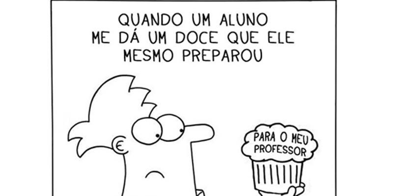 O cotidiano do professor – de uma forma hilária.