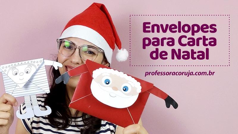 Envelopes de Natal para baixar