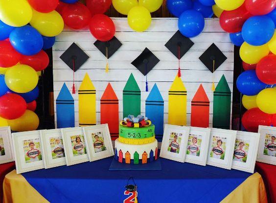 Temas e decoração para formatura da educação infantil