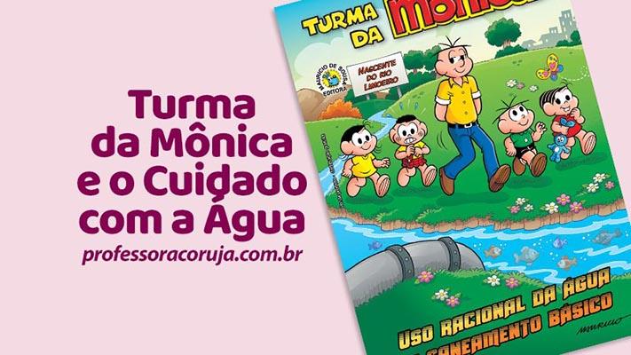 Turma da Mônica – Cuidados com a água