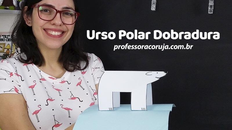 Urso Polar de Dobradura