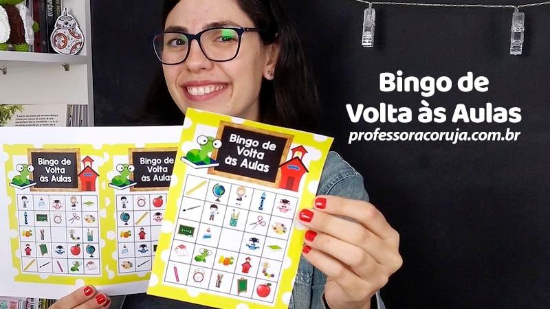 Bingo Volta às Aulas