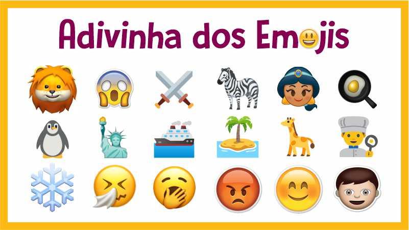 Advinha dos Emojis