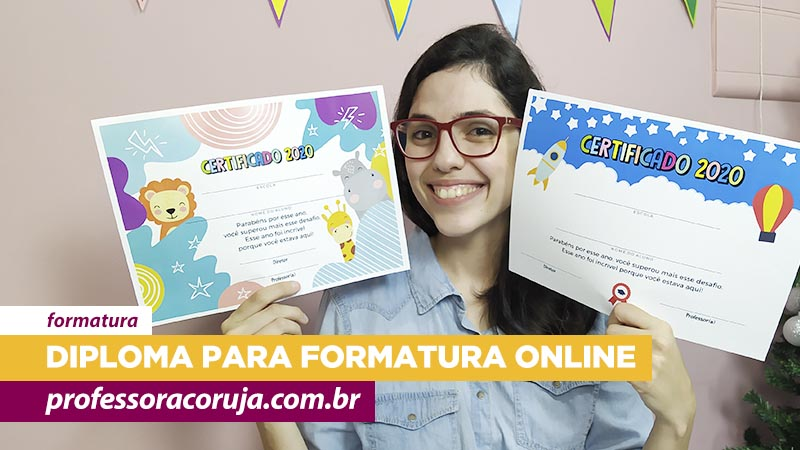 Diploma para formatura online